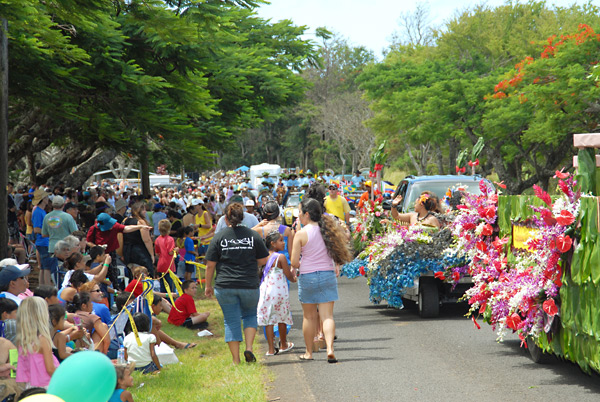 Annual Historic Koloa Plantation Days Parade